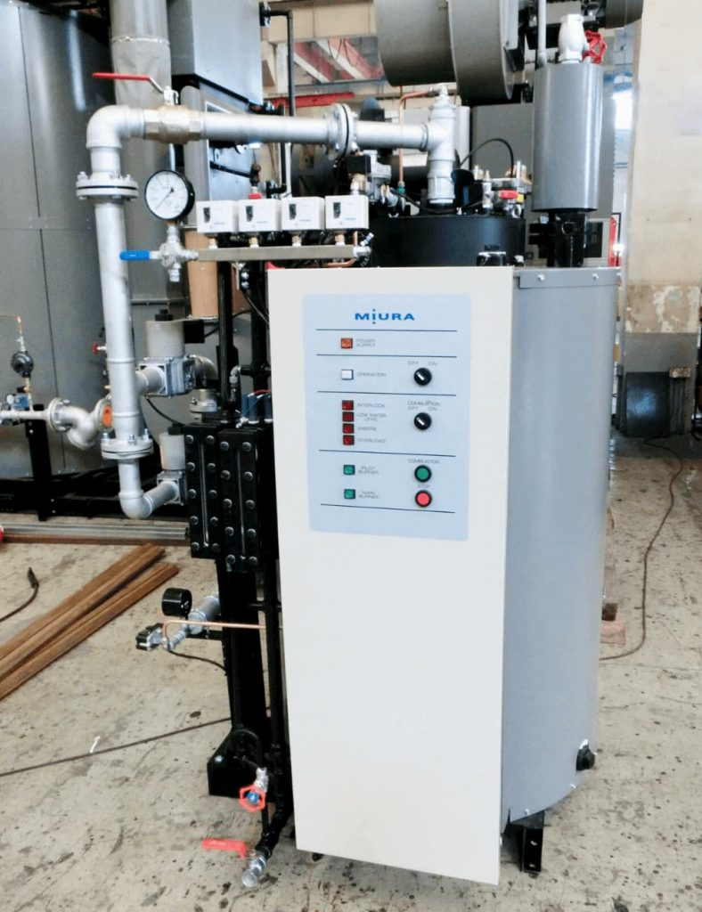 Miura Malaysia Boiler EH500G