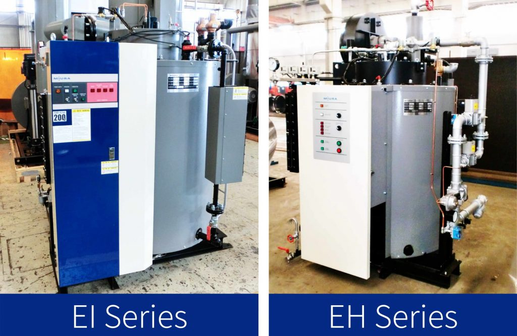Miura Boliler Malaysia, our products, Once-through Steam Boiler,  < EI Series > <EH Series> Oil & Gas